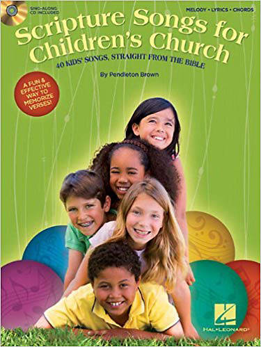 Scripture Songs for Childrens Church; 40 Kids Songs, Straight from the Bible With CD (Audio)