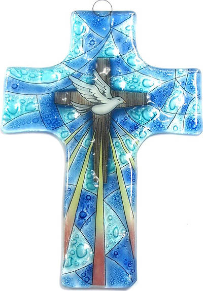 Picture of Inspirational Dove Cross Medium