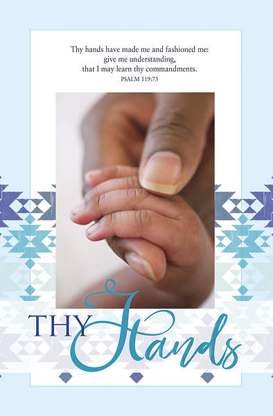 Picture of Thy Hands General Regular Size Bulletin