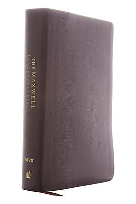 Picture of Niv, Maxwell Leadership Bible, 3rd Edition, Leathersoft, Black, Comfort Print