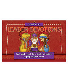 Picture of Buzz Grades 3 & 4 Paradox  Leader Devotions Winter 2018-19