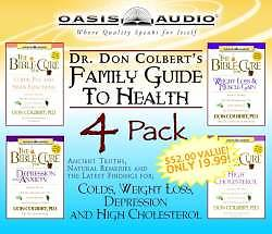 Picture of Dr. Don Colbert's Family Guide to Health 4 Pack