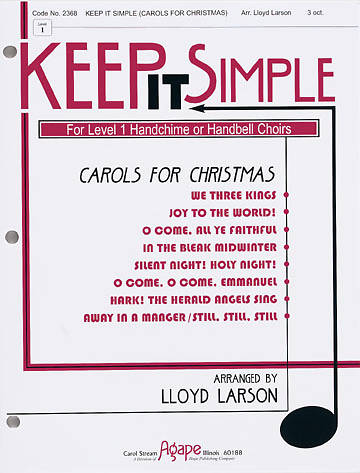 Keep It Simple Handbell Carols for Christmas