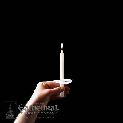 Cathedral Stearine Molded Candles - 17/32