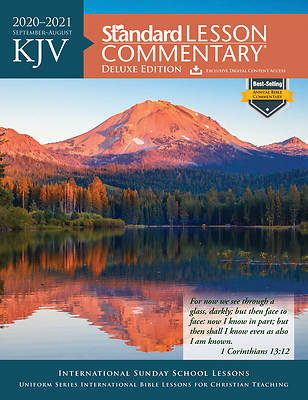 Picture of KJV Standard Lesson Commentary Deluxe 2020-2021