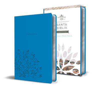 Picture of Biblia Reina Valera 1960 Letra Grande. Símil Piel Azul, Tamaño Manual / Spanish Holy Bible Rvr 1960. Handy Size, Large Print, Blue Leathersoft