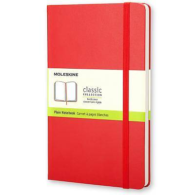 Notebook Moleskine Classic Plain Pocket Red
