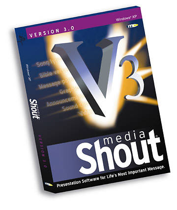 Media Shout 3.0 Version  -XP PC Version