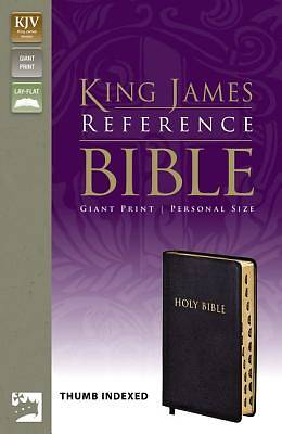 Giant Print Reference Bible-KJV-Personal Size