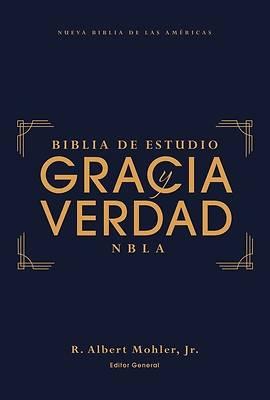 Picture of Nbla Biblia de Estudio Gracia Y Verdad, Tapa Dura, Interior a DOS Colores