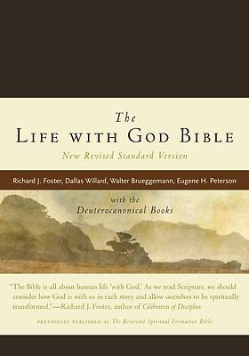 Picture of New Revised Standard Version The Life with God Bible