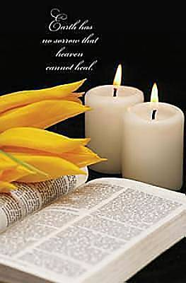 Earth Has No Sorrow Funeral Bulletin, Regular (Package of 50)