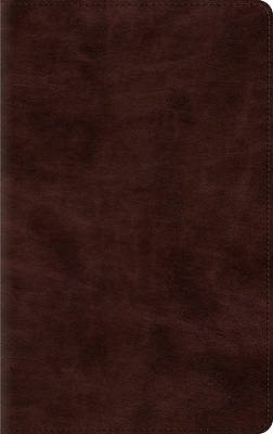 ESV Thinline Bible (Trutone, Espresso)