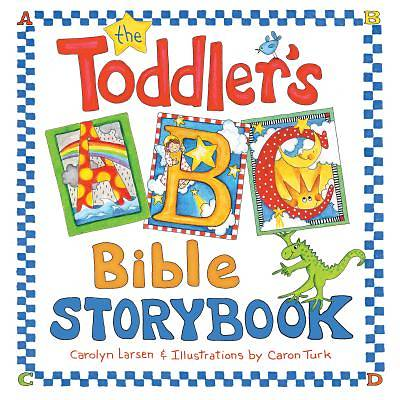 The Toddlers ABC Bible Storybook