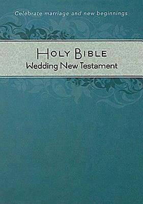 CEB Common English Bible Wedding New Testament, White Decotone