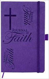 Journal of Faith Notebook-Violet