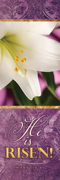 Picture of He is Risen Easter Bookmark