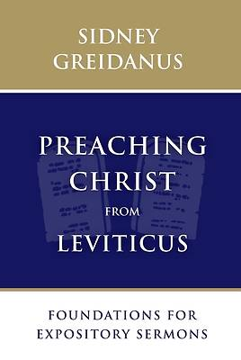 Picture of Preaching Christ from Leviticus