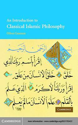 An Introduction to Classical Islamic Philosophy [Adobe Ebook]
