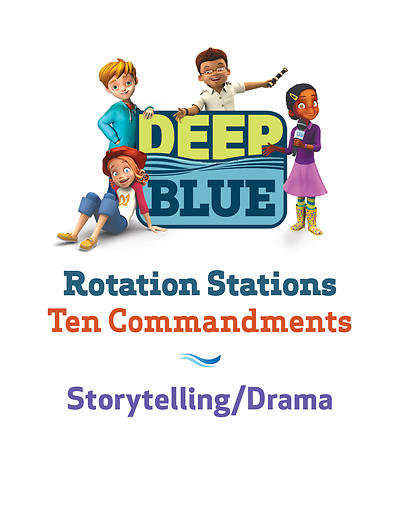 Picture of Deep Blue Rotation Station: Ten Commandments - Storytelling/Drama Station Download
