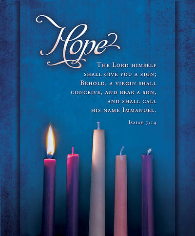 Picture of Advent Bulletin Week 1 Isaiah 7:14 Legal