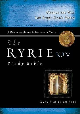 Picture of Bible-KJV Ryrie Study