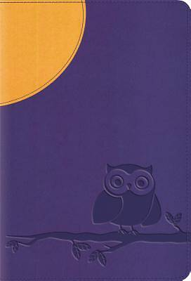 ESV Large Print Compact Bible (Trutone, Moonlight Owl)