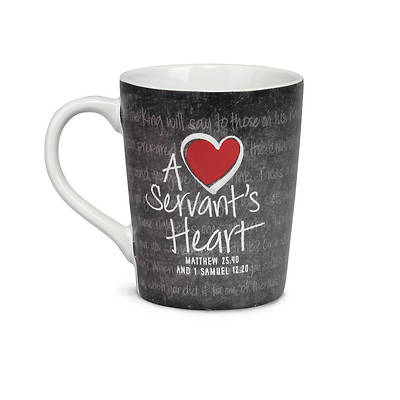 A Servants Heart 12oz Ceramic Mug