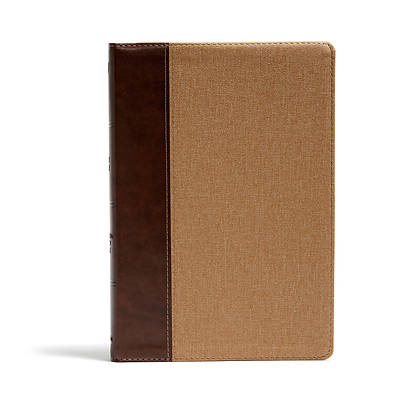 Picture of KJV Rainbow Study Bible, Brown/Tan Leathertouch