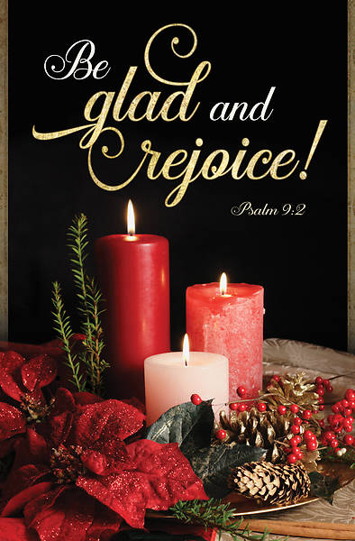 Picture of Be Glad and Rejoice Christmas Regular Size Bulletin