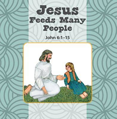Jesus Feeds Many People/Mary Listens to Jesus Flip Book