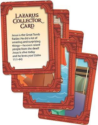 Picture of The Great Tomb Raid Collector Cards 6 Pack