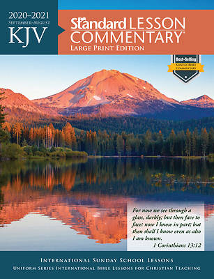 Picture of KJV Standard Lesson Commentary Large Print 2020-2021