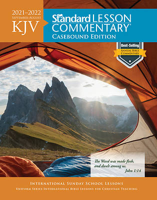 Picture of KJV Standard Lesson Commentary Casebound 2021-2022