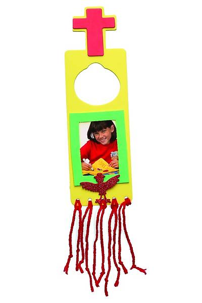 Vacation Bible School 2013 Pkg of 12 Everywhere Fun Fair Cross Door Hanger with Frame Craft Day 4 VBS