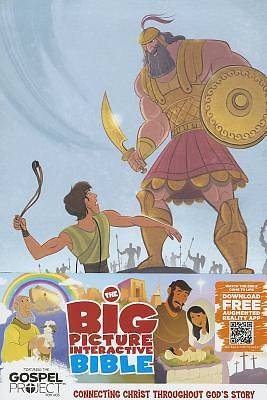 The Big Picture Interactive Bible for Kids, David and Goliath Edition Leathertouch