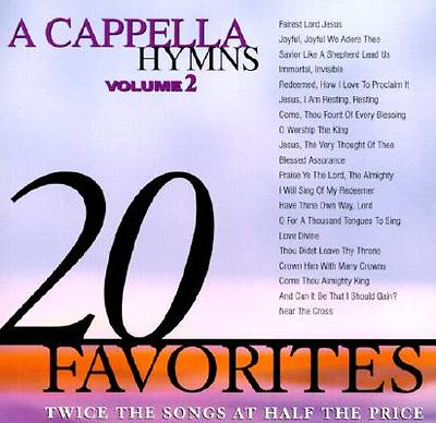 20 A Cappella Hymns; Volume Two