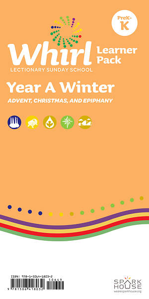 Whirl Lectionary PreK-Kindergarten Learner Leaflet Winter Year A