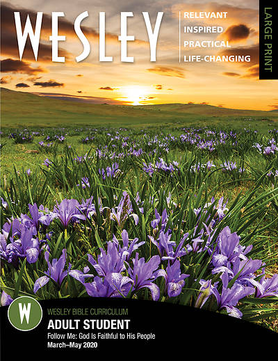 Wesley Adult Bible Student Large Print Spring 2020
