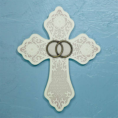Brought Together in Joy Wedding Cross