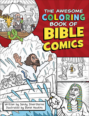 Picture of The Awesome Coloring Book of Bible Comics