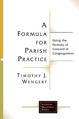 Picture of A Formula for Parish Practice