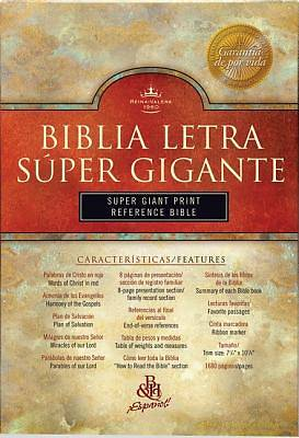 Super Giant Print Bible-Rvr 1960