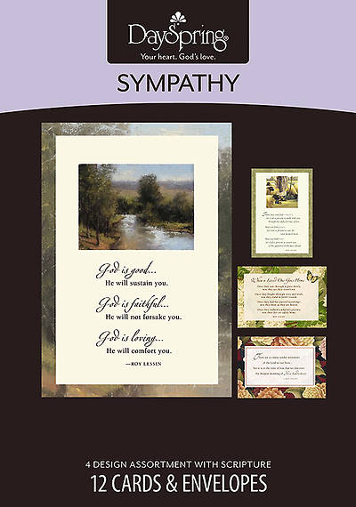 Roy Lessin - Sympathy Boxed Cards - Box of 12