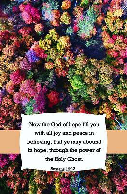 Picture of God of Hope Bulletin (Pkg 100) General Worship