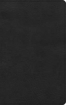 Picture of KJV Ultrathin Bible, Black Leathertouch, Indexed