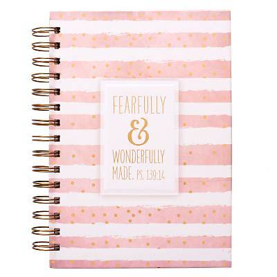 Journal Wirebound Fearfully and Wonderfully Made