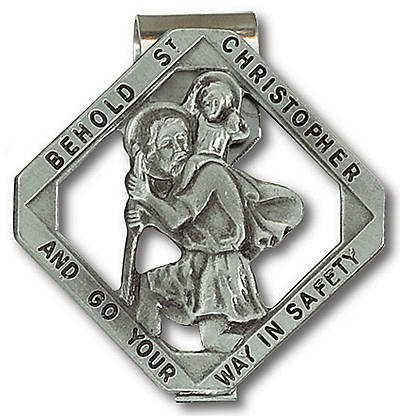 Picture of Visor Clip St Christopher