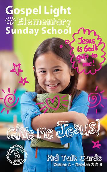 Picture of Gospel Light Grade 3-4 Kid Talk Cards PK 5 Year A Winter
