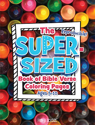 Picture of The Super-Sized Book of Bible Verse Coloring Pages
